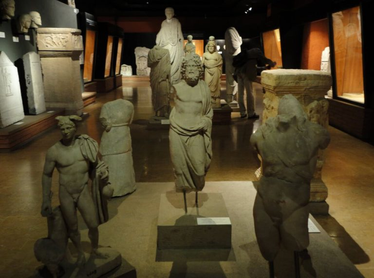 Exhibits related to Ancient Rome and Ancient Greece