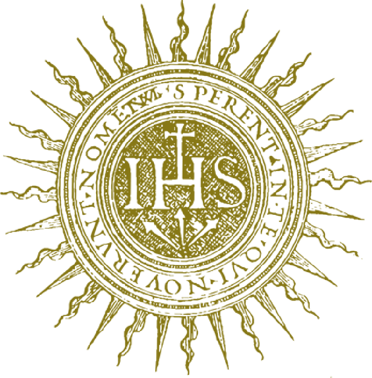 The symbol of the Jesuits