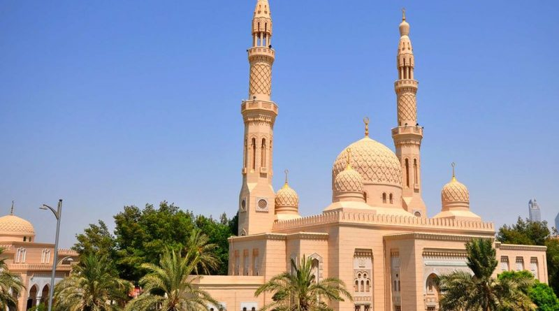 Jumeirah Mosque in Dubai