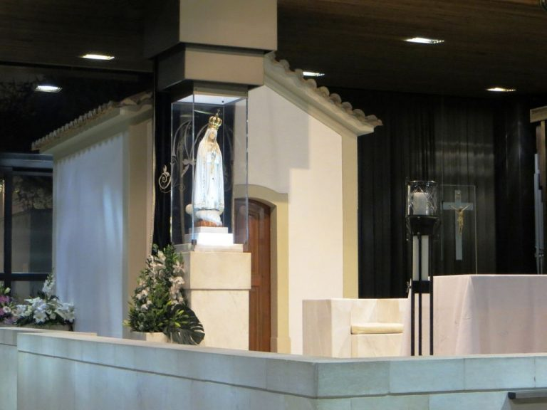 Photo: chapel of the Apparition of the Madonna
