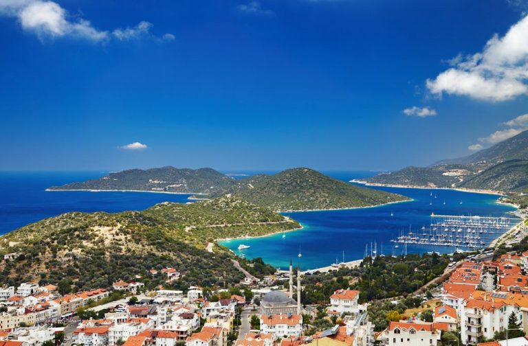 The city of Kas - a picturesque corner of Turkey