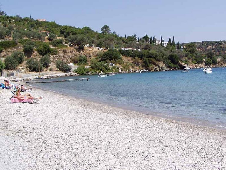 Kerveli Beach on Samos