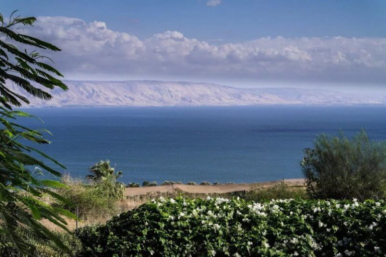 Galilee Lake in Tiberias