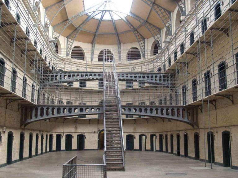 At Kilmanham Prison
