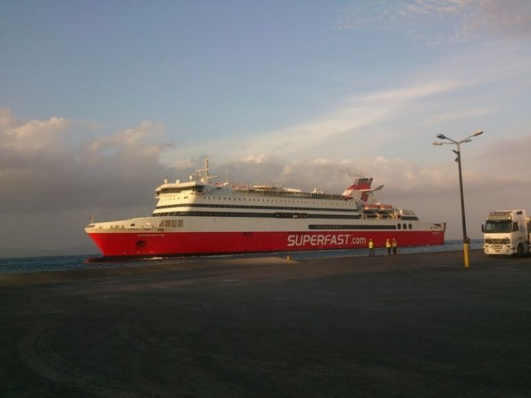 Ferry to Kos