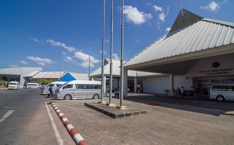 There is an airport near Krabi Town