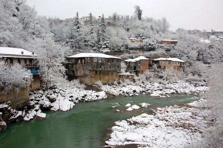 Kutaisi in the winter