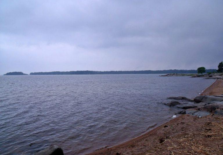 Karlstad by Lake Venern