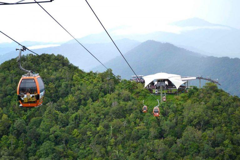 Cableway in Langkawi