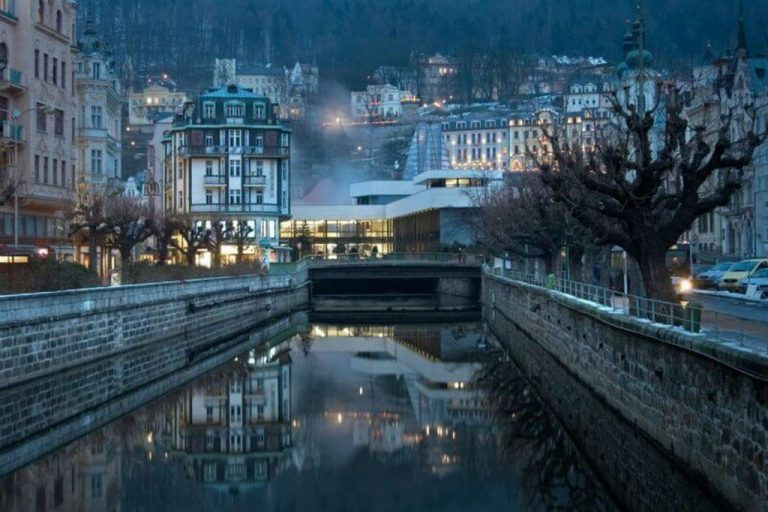 Karlovy Vary in the fall