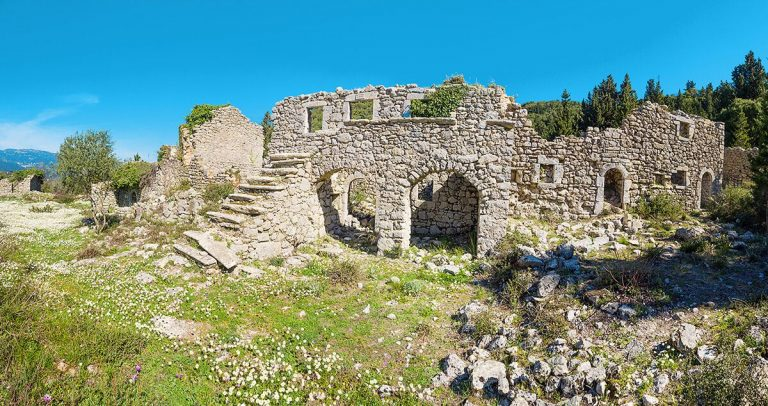 The ruins of an ancient city