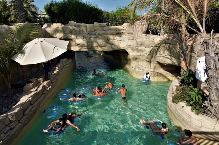 Lazy river at Aquaventour water park