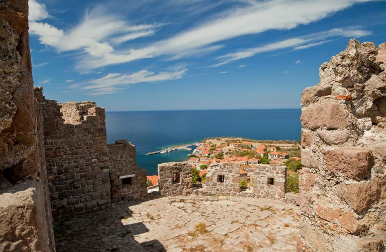 View from the Molyvos Fortress