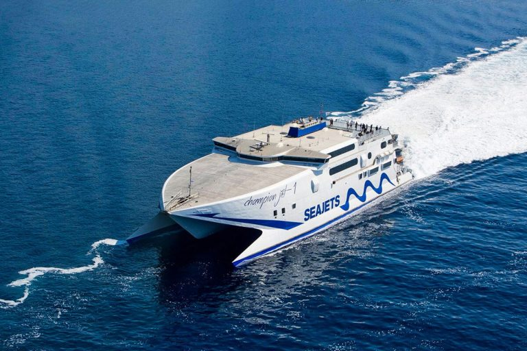 Ferry to Lesbos