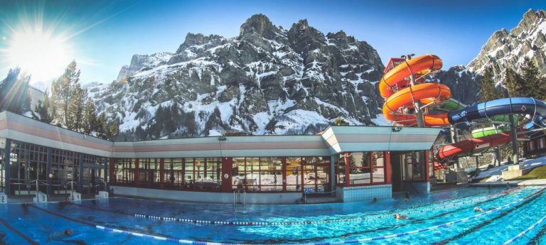 Thermal complex Leukerbad Therme