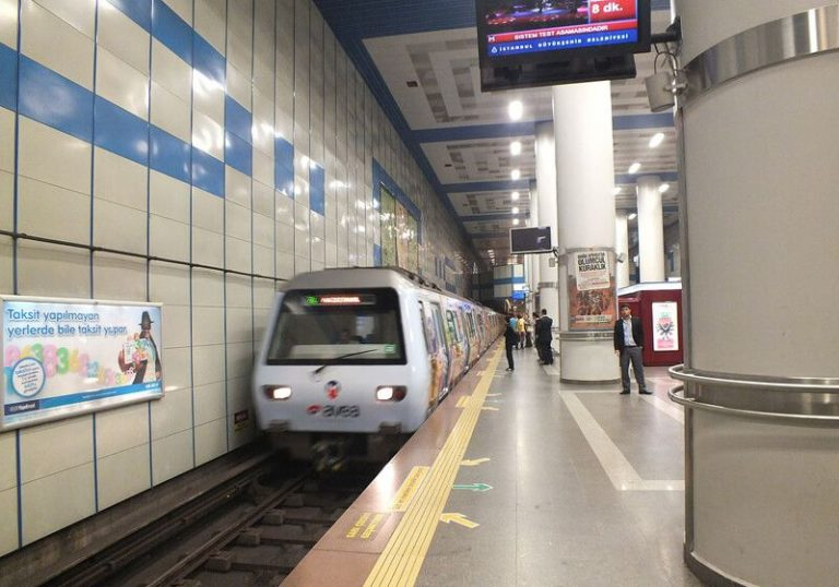 By metro to Levent Station