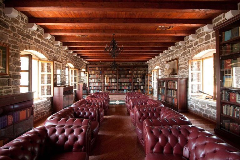 Photo: library room