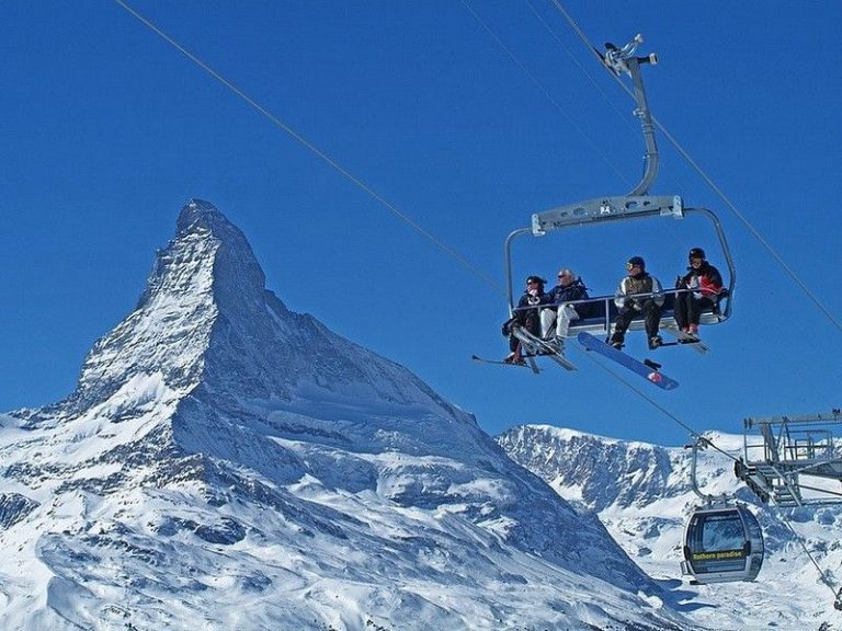 Lifts in Zermatt