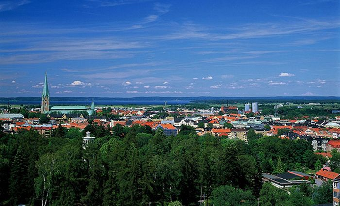 Linkoping in the summer