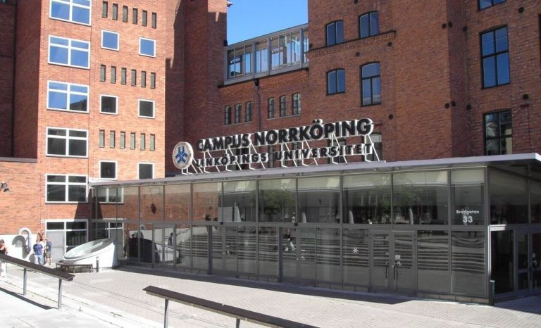 University of Linkoping University Campus Entrance