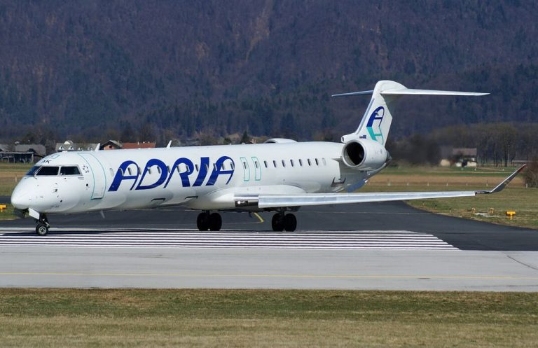 Slovenian airline Adria Airways