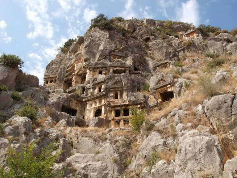 Lycian Tombs in the World