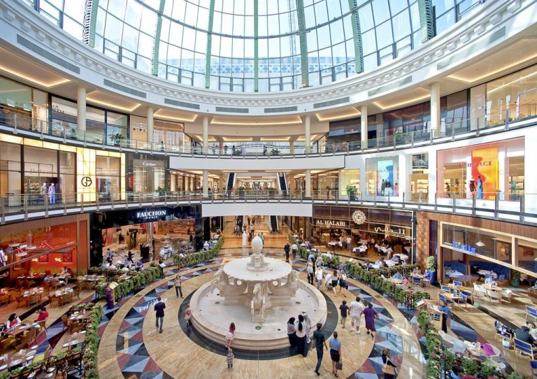 Mall of Emirates - a huge shopping center