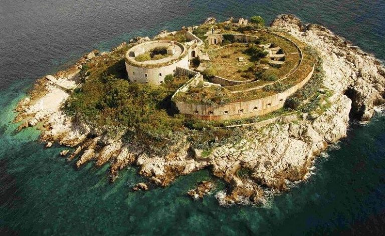 Photo: fortress on Mamula
