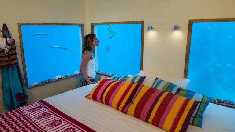 Underwater Room at Manta Resort