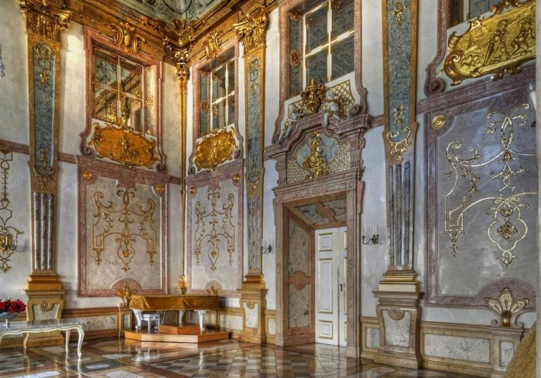 Marble Hall in Mirabell Castle