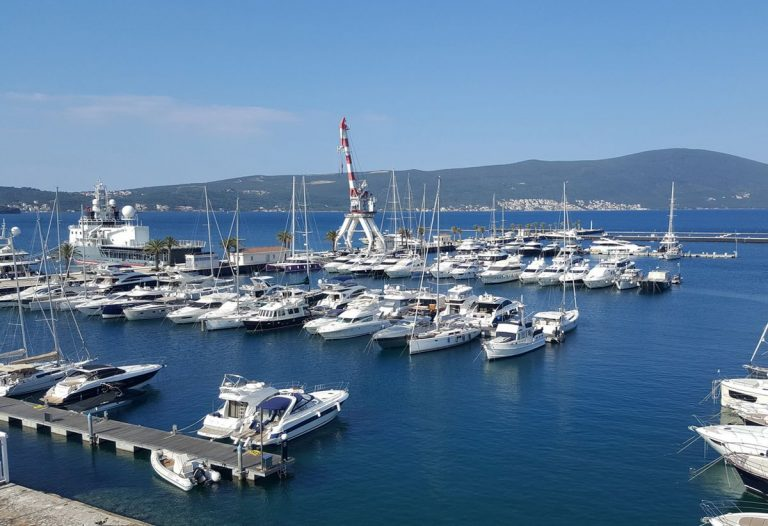 Moored Yachts