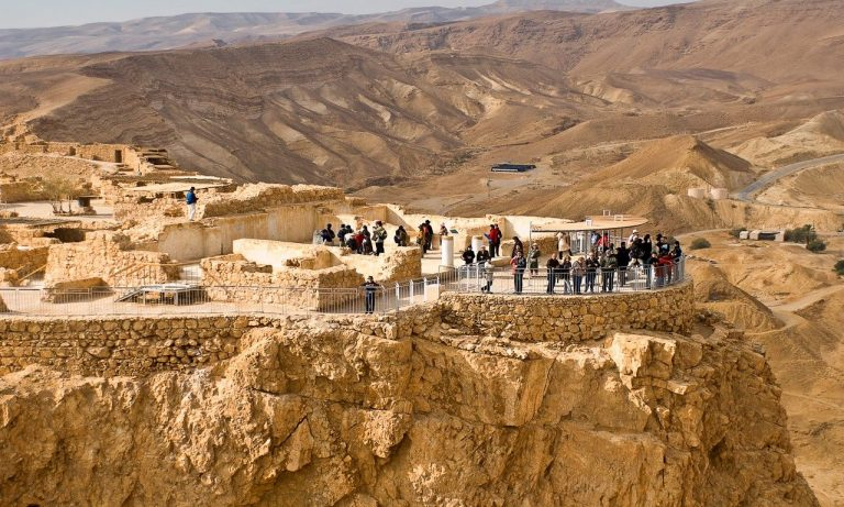 View of Masada fortress