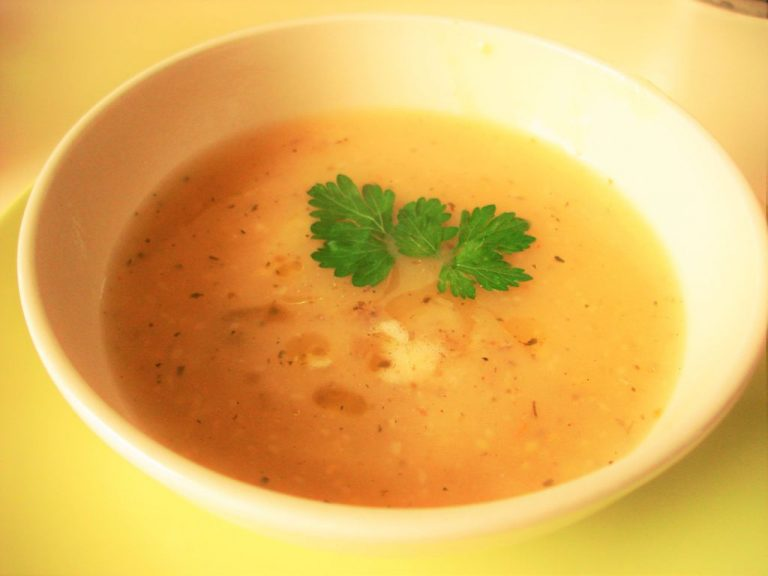 Tarkhan's milk soup
