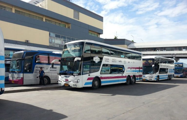 By bus from Bangkok Bus Station