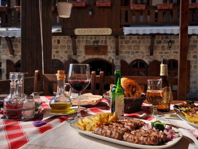 Photo: dishes of Montenegro cuisine