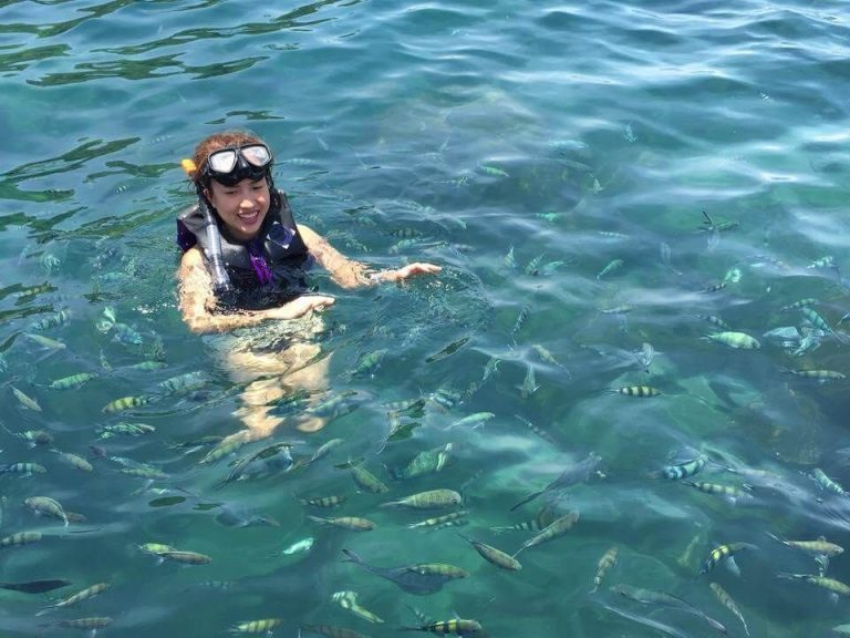 Snorkeling available