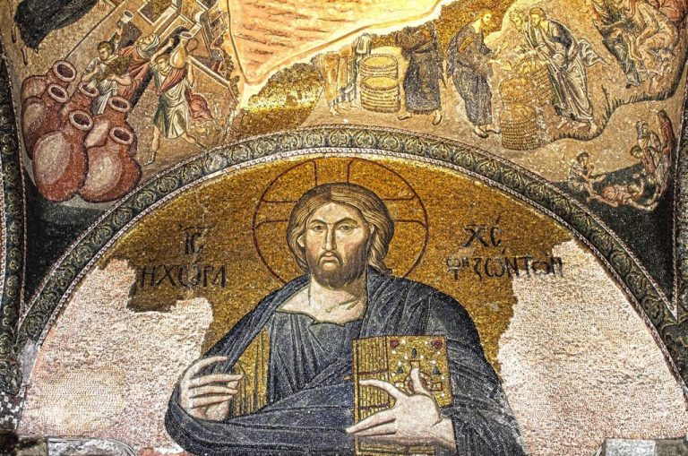 Mosaics in the church of Chora