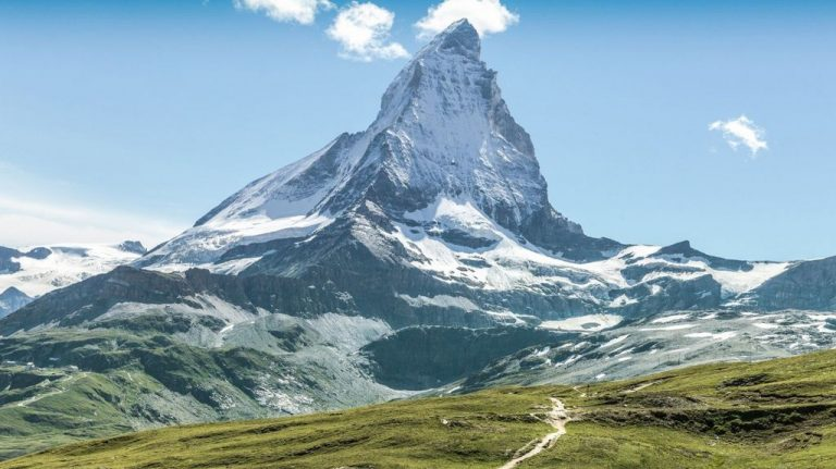 Mount Matterhorn in the Alps