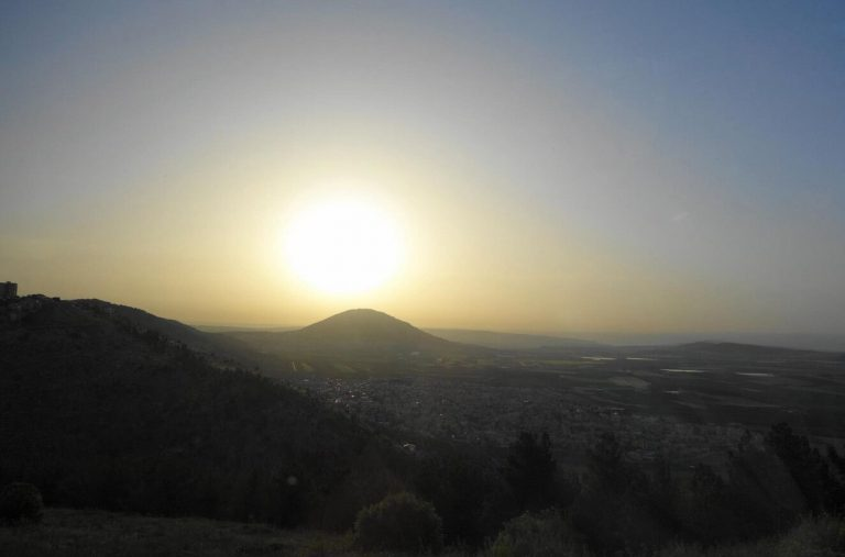 View of Mount Tabor