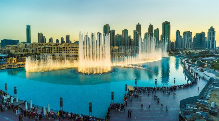 Dubai Music Fountain