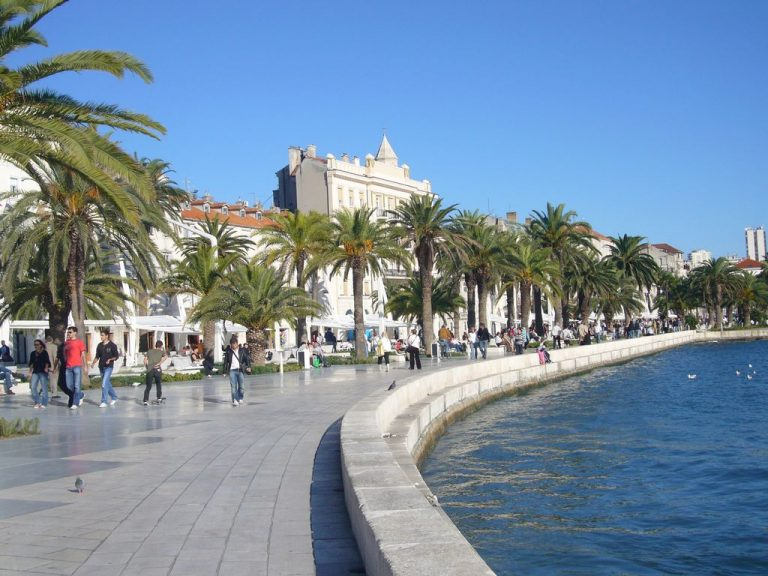 Riva Embankment in Split