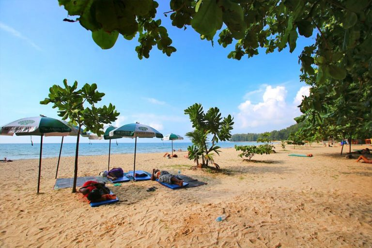 Shade on Nai Yang Beach