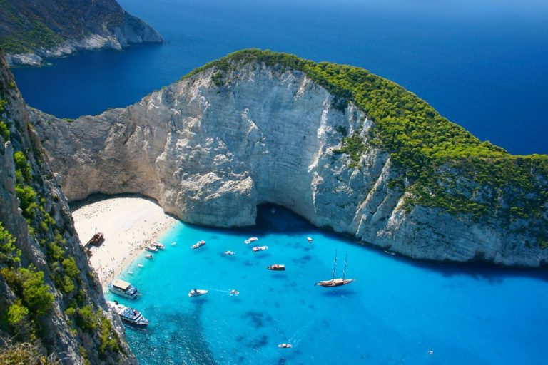 Beach and Navagio Bay