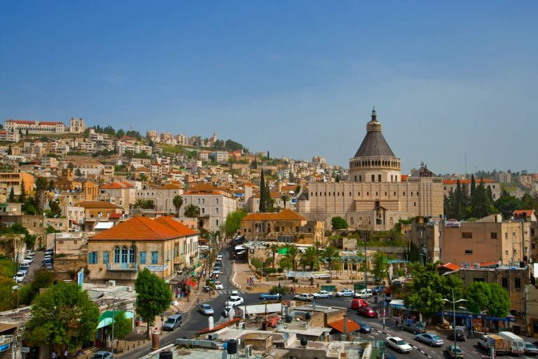 Nazareth - a city in the Galilee