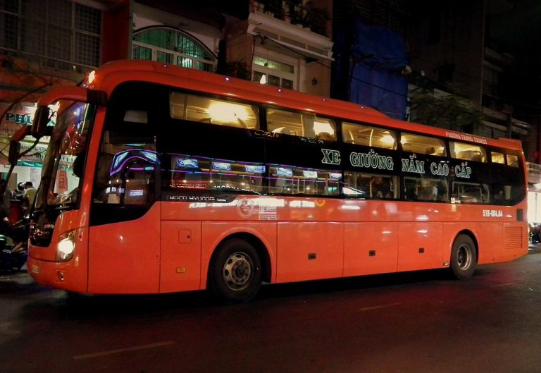 Night bus from Ho Chi Minh city