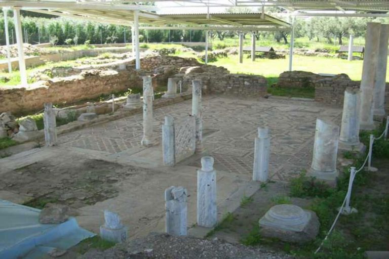 Excavations of the Basilica of St. Sophronius