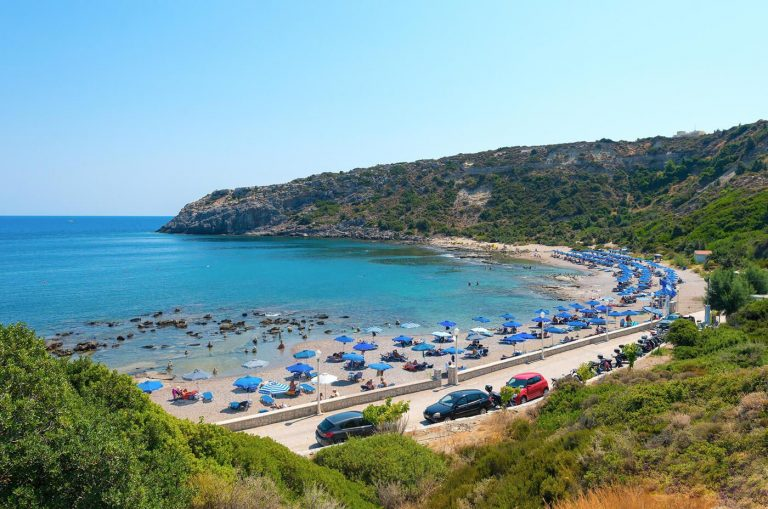Mandomata Nudist Beach, Faliraki