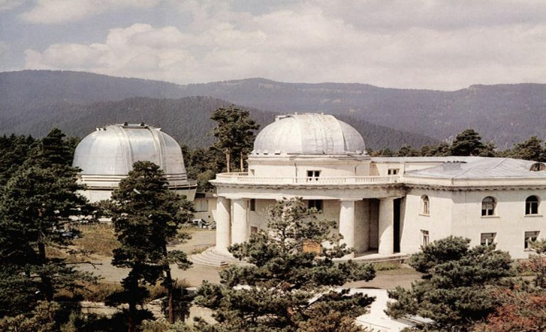Observatory built during the USSR