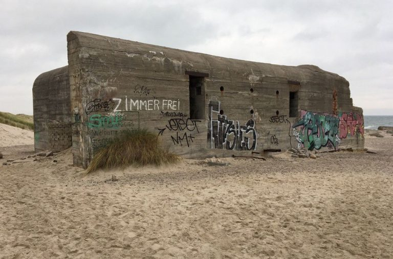 Old german bunker