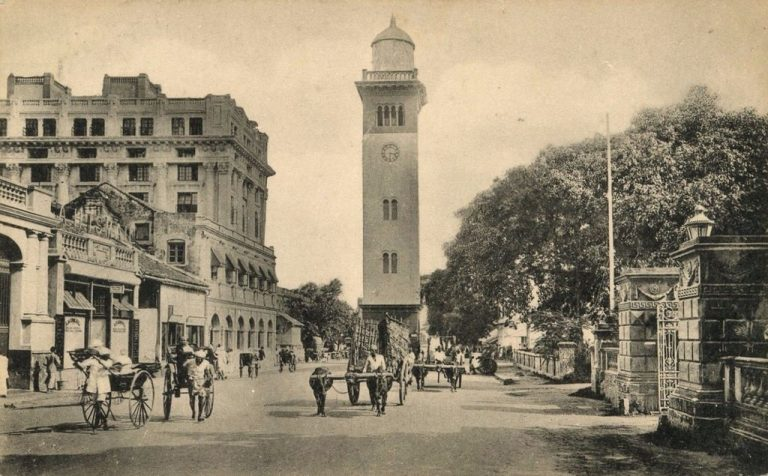 Old photo of the Clock Tower